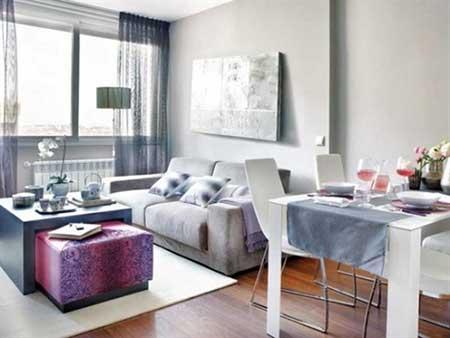 50 dicas como decorar apartamentos pequenos for Colores para apartamentos pequenos