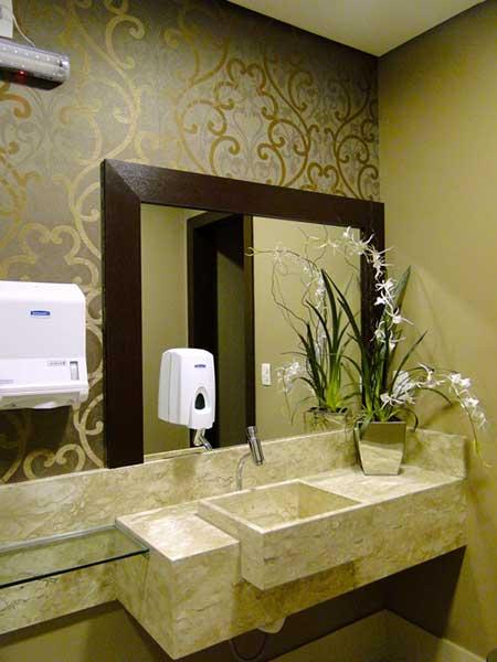 dicas de lavabos decorados