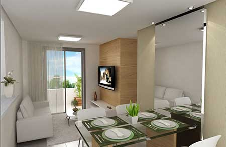 50 dicas como decorar apartamentos pequenos for Decorar apartamentos modernos pequenos