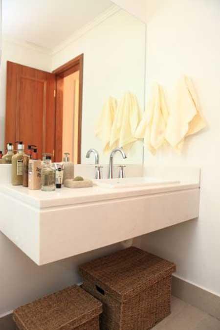 imagens de lavabos decorados