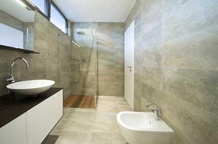 Revestimento para banheiro simples moderno fotos for Modelos de pisos de granito