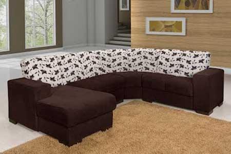 imagem de sofá de canto