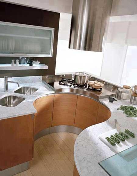 Cozinha planejada para apartamento grande e pequeno for Modelo de cocina pequena moderna