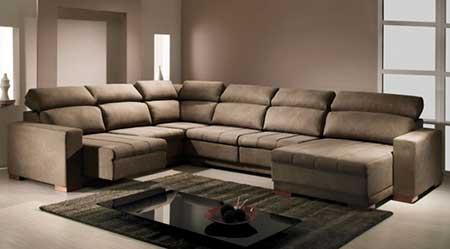 Sof de canto grande pequeno fotos dicas imagens for Modelos de sofas clasicos