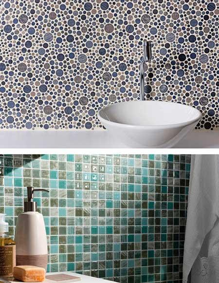 Revestimento para banheiro simples moderno fotos for Ceramica para revestir paredes