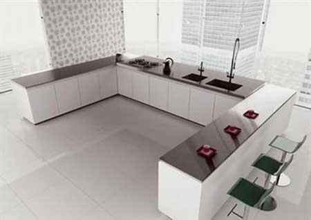 Pisos para cozinha fotos tipos ideias modelos dicas for Modelos de ceramica para pisos de sala