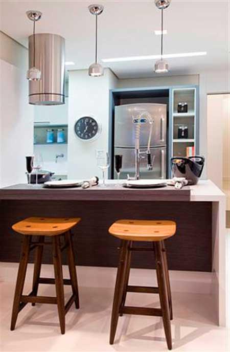modelo de banqueta na cozinha