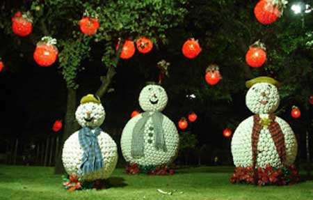 imagens de decoração de jardim