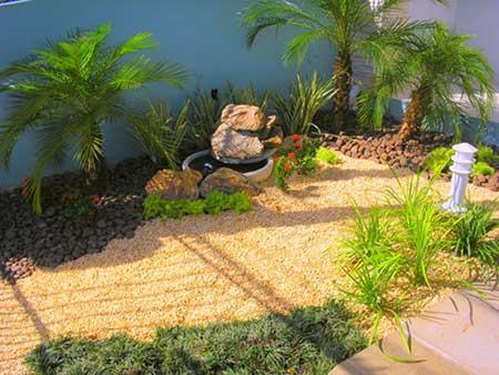 sugestões de decoração de jardim
