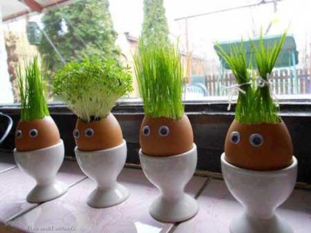 como fazer decoração de jardim