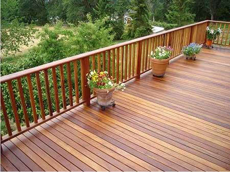 Modelos de deck de madeira