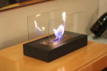 com vidro