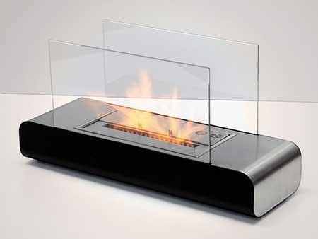 modelo com fogo