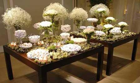fotos da mesa decorada