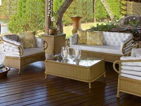 imagens de móveis para jardins