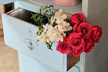 imagens de decoração com flores