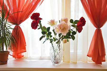 decoração com flores fácil