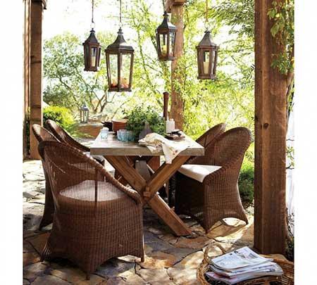 móveis para jardins