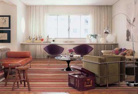 dicas de decoração com tapetes orientais