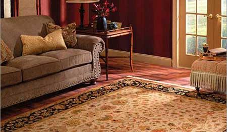 decoração com tapetes orientais