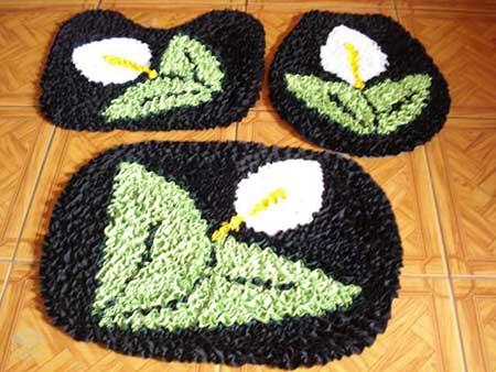 modelos de tapetes frufru