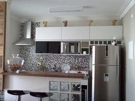como fazer decoração de cozinha