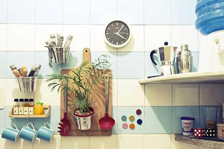 fotos de decoração simples para cozinhas