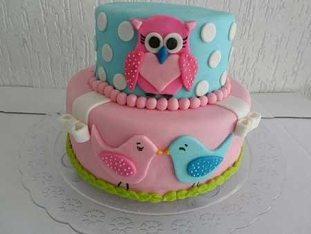 fotos de decoração de bolo