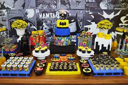 fotos de festa do batman