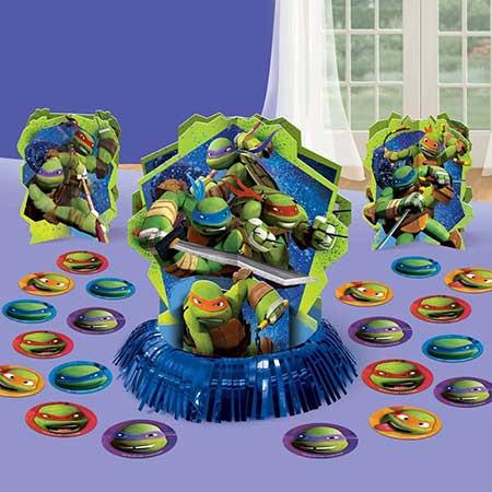 decoração das tartarugas ninja