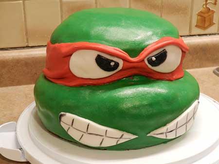aniversário das tartarugas ninja