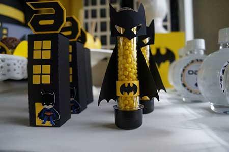 fotos de decoração do batman