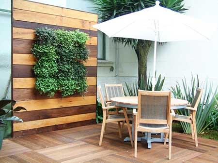 imagens de jardins verticais