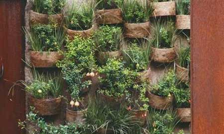 como decorar jardim interno