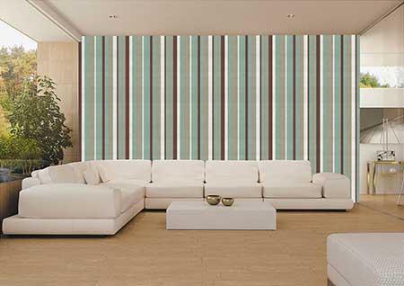 como decorar paredes listradas