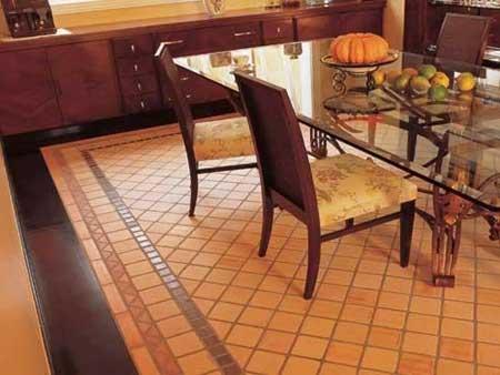 Piso cer mico na decora o sala cozinha banheiro Pisos ceramicos rusticos para interiores