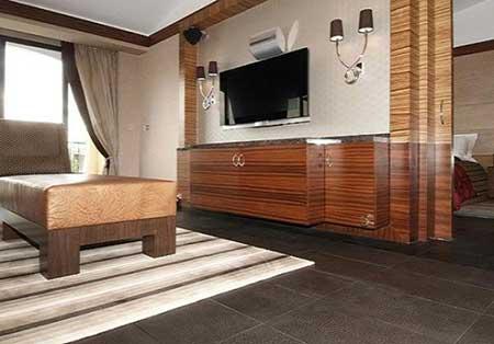 piso de cerâmica