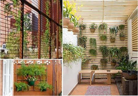 como montar jardim vertical