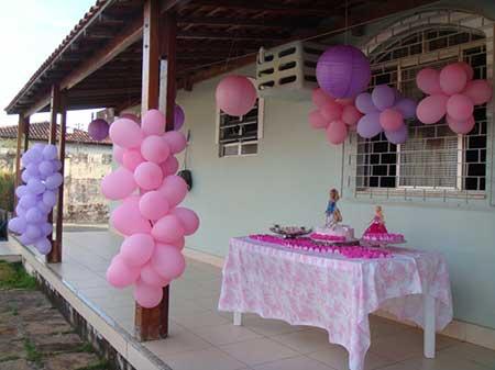 dicas de decoração de aniversário da barbie