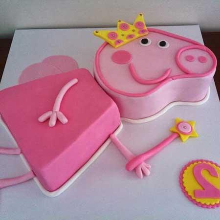 fotos de decoração peppa pig