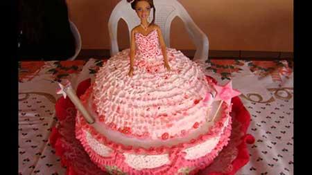 decoração da barbie