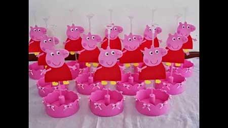 decoração peppa pig
