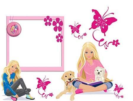 fotos de decoração da barbie