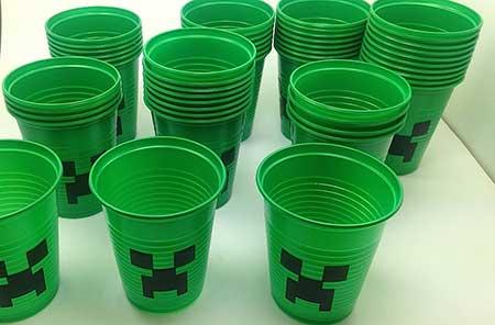 Decoração de Festa do Minecraft