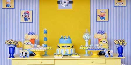 imagens de decoração minions