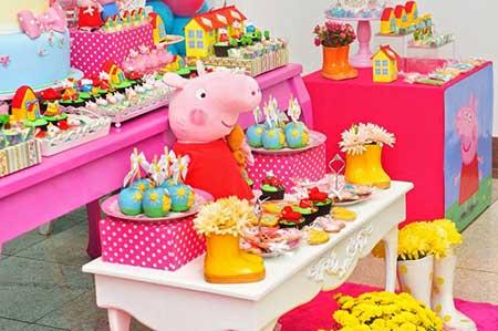 dicas de decoração peppa pig