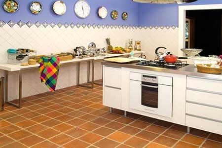 reforma com piso de cerâmica