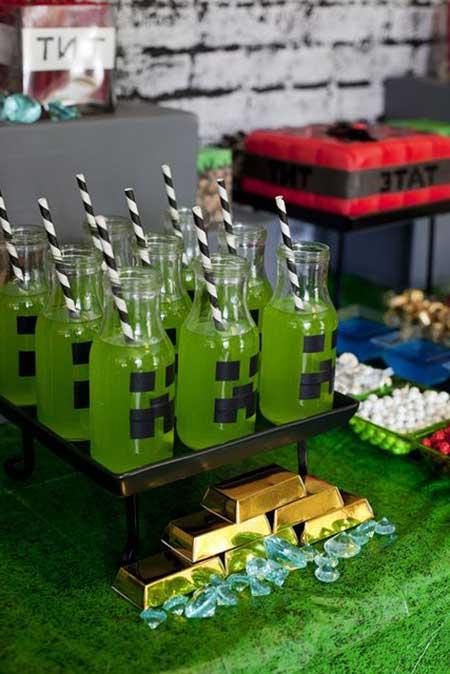 Imagens de Decoração de Festa do Minecraft