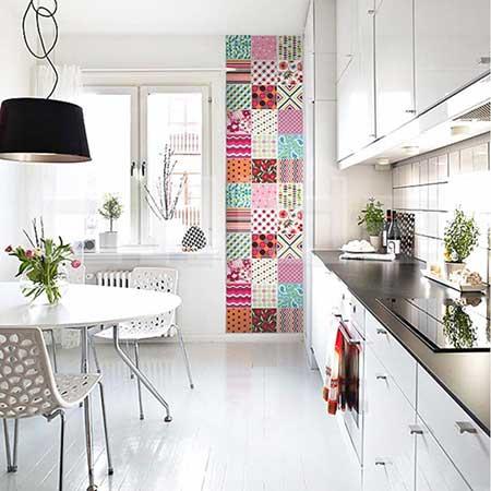 imagens de paredes com tecidos