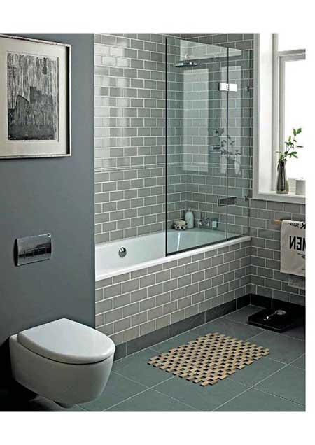 Piso para Banheiro na Reforma e Decoração Fotos e Modelos -> Banheiro Feminino Simples